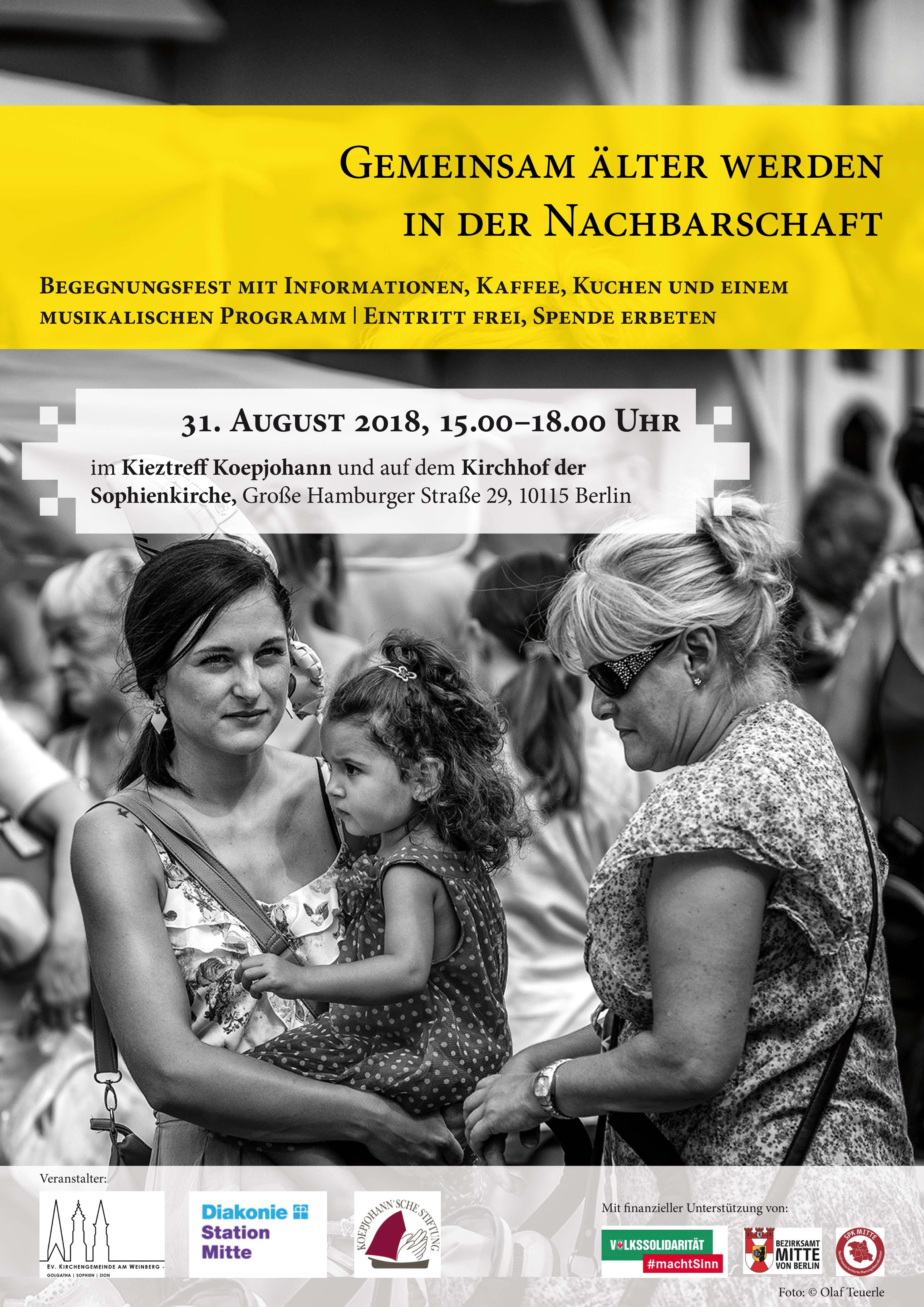 Plakat Begegnungsfest