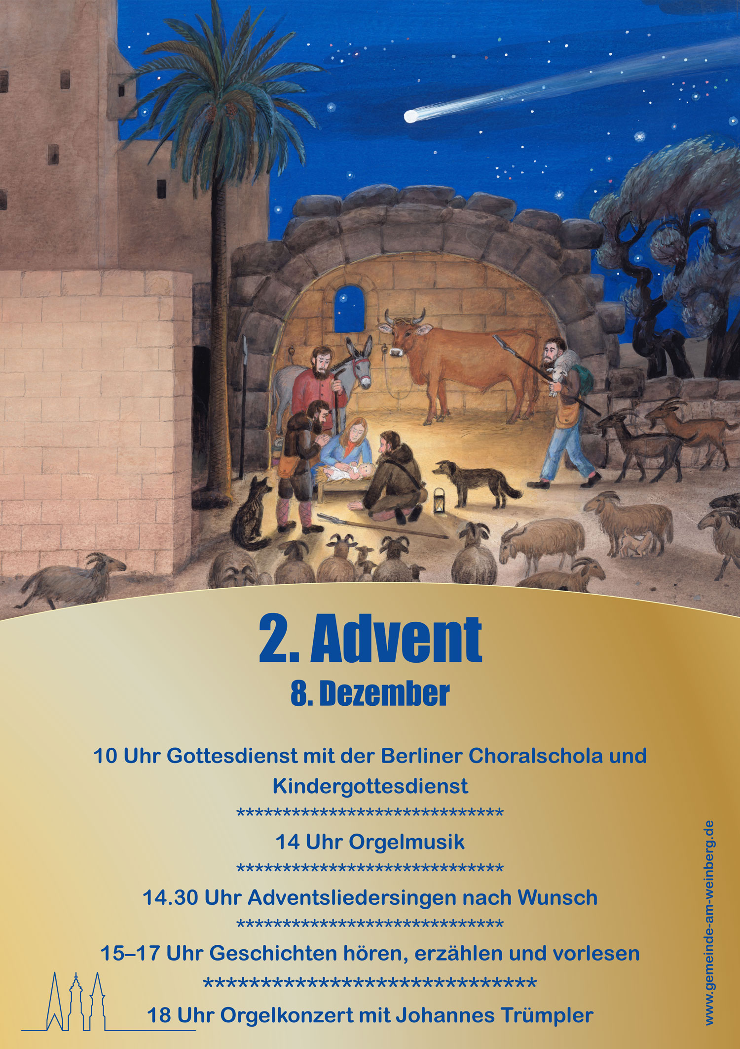 Plakat zum 2. Advent