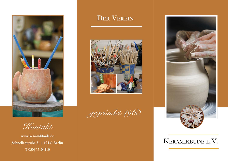 Flyer Keramikbude 2020 Vorderseite